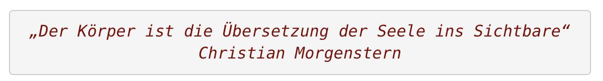 Zitat Birgit Morgenstern