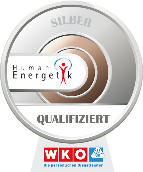 WKO Humanenergetik Siegel Silber